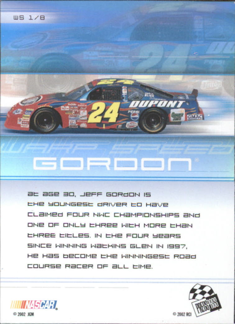 2002-Press-Pass-Eclipse-Racing-Insert-Card-Pick thumbnail 25