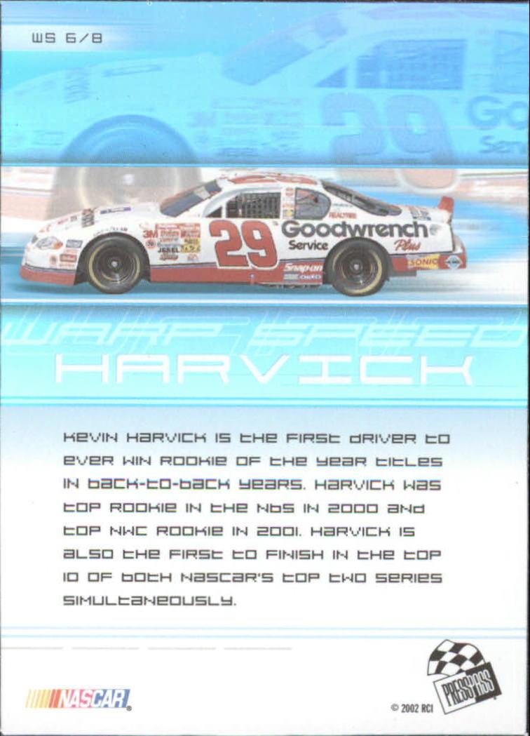2002-Press-Pass-Eclipse-Racing-Insert-Card-Pick thumbnail 29