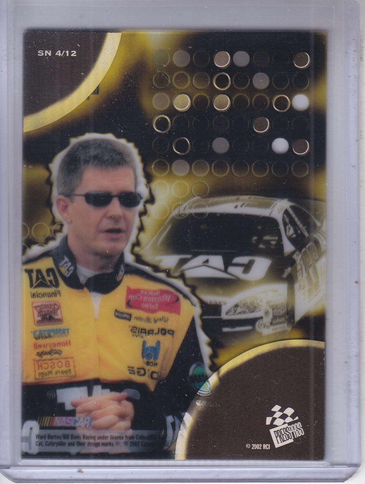 2002-Press-Pass-Eclipse-Racing-Insert-Card-Pick thumbnail 12