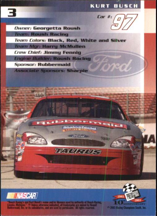 2003-Press-Pass-Trackside-Racing-Card-Pick thumbnail 7