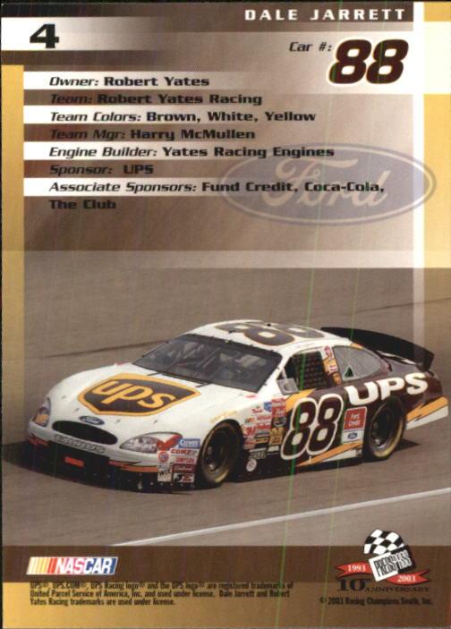 2003-Press-Pass-Trackside-Racing-Card-Pick thumbnail 9