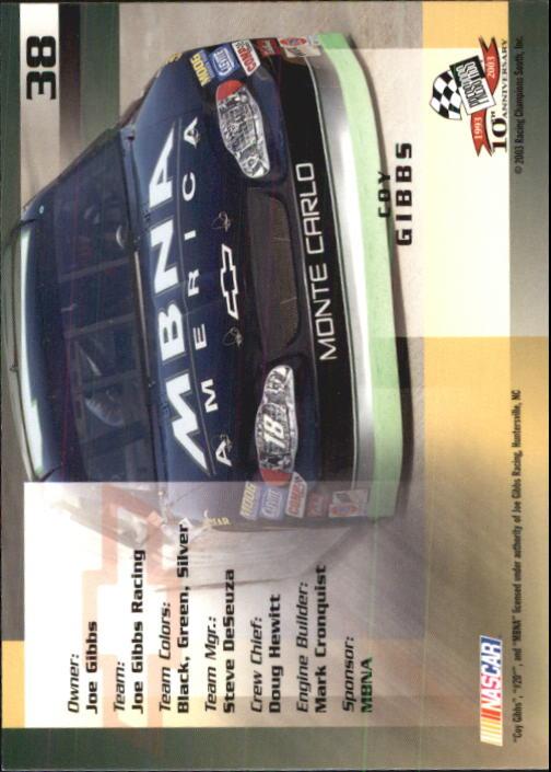 2003-Press-Pass-Trackside-Racing-Card-Pick thumbnail 77