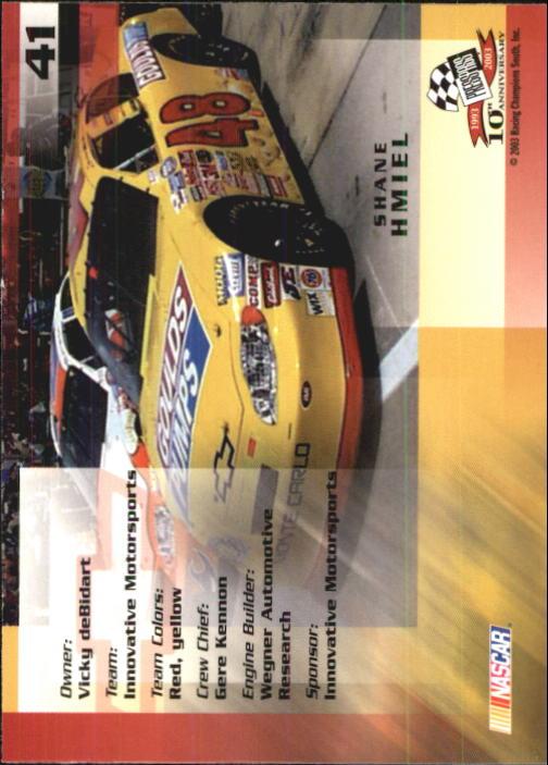 2003-Press-Pass-Trackside-Racing-Card-Pick thumbnail 83