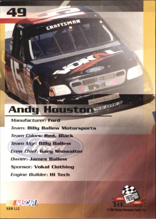 2003-Press-Pass-Trackside-Racing-Card-Pick thumbnail 99