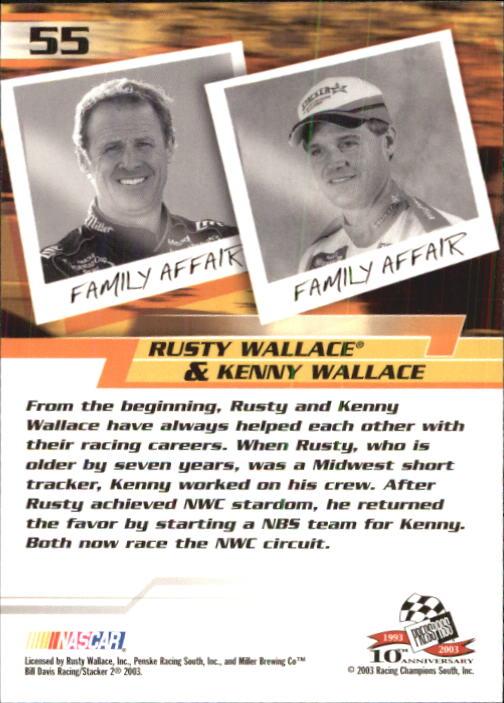 2003-Press-Pass-Trackside-Racing-Card-Pick thumbnail 111