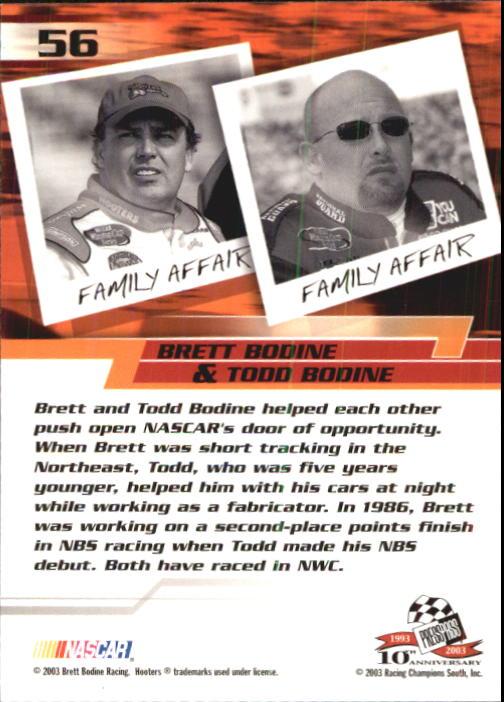 2003-Press-Pass-Trackside-Racing-Card-Pick thumbnail 113