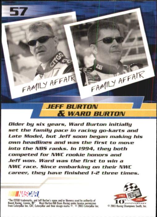 2003-Press-Pass-Trackside-Racing-Card-Pick thumbnail 115