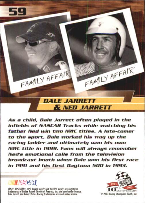 2003-Press-Pass-Trackside-Racing-Card-Pick thumbnail 119
