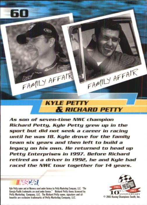 2003-Press-Pass-Trackside-Racing-Card-Pick thumbnail 121