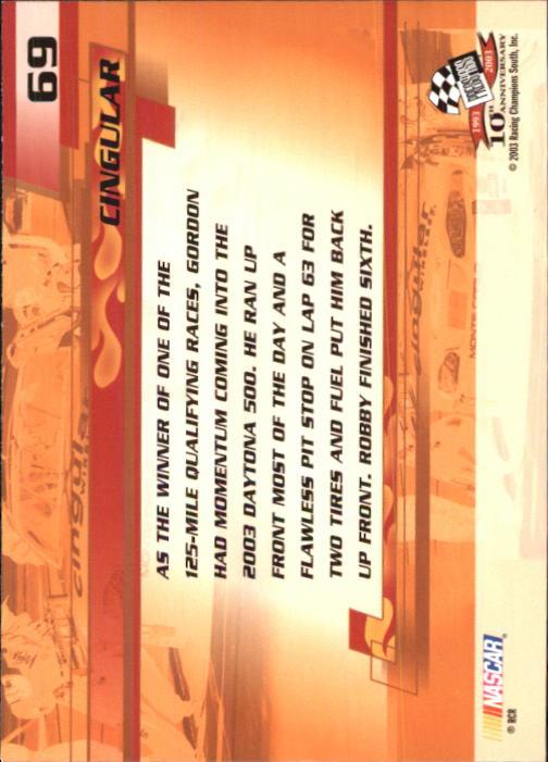 2003-Press-Pass-Trackside-Racing-Card-Pick thumbnail 139