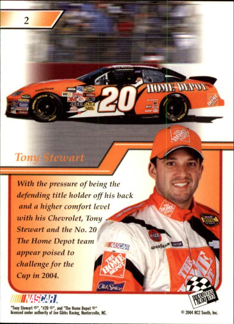 2004-Press-Pass-Premium-Racing-Card-Pick thumbnail 5