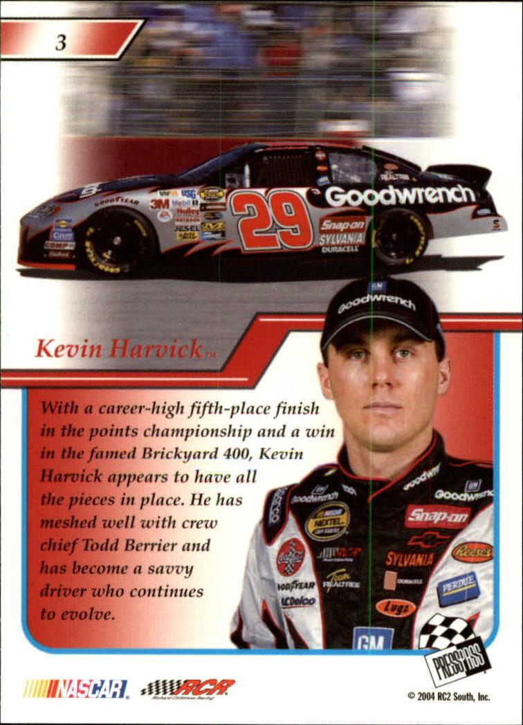 2004-Press-Pass-Premium-Racing-Card-Pick thumbnail 7