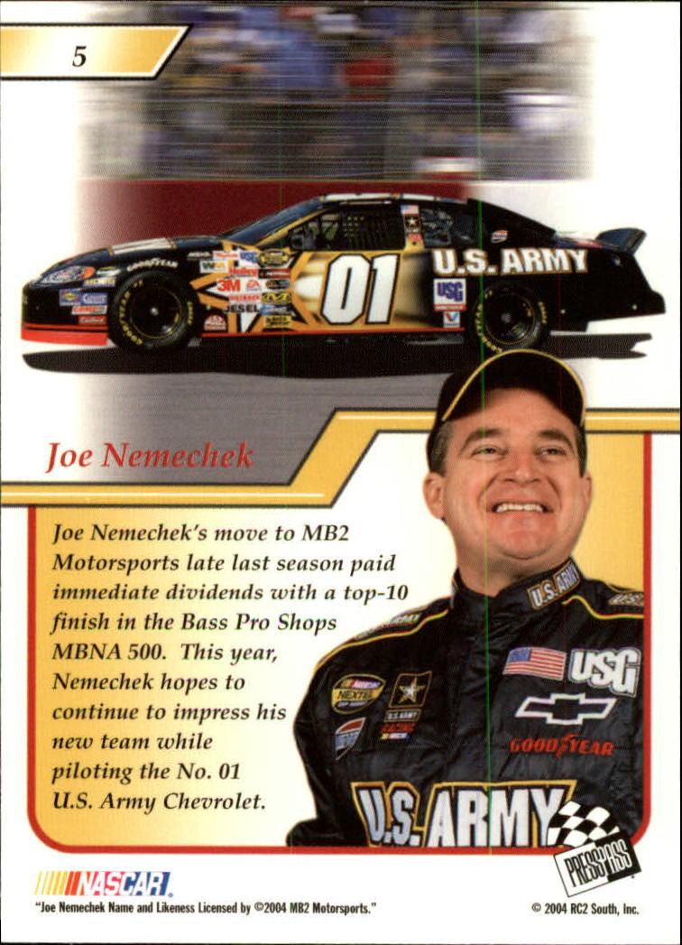 2004-Press-Pass-Premium-Racing-Card-Pick thumbnail 11