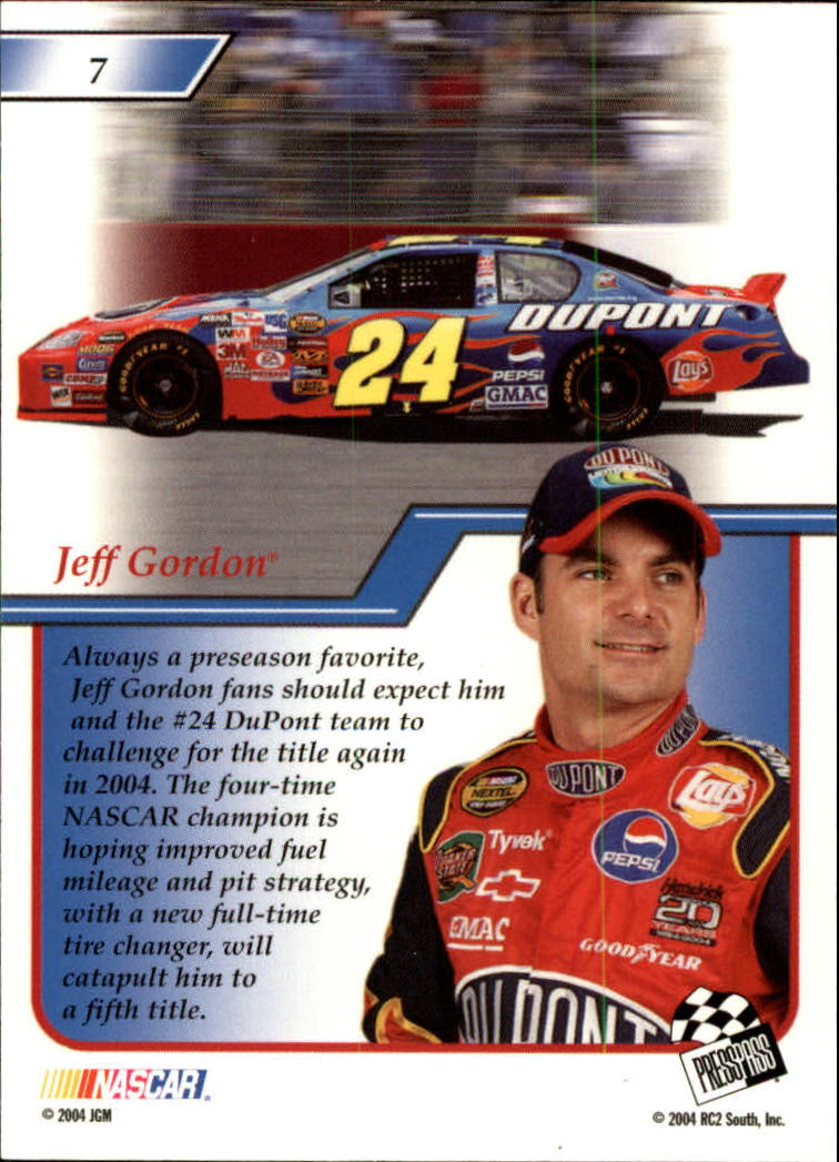 2004-Press-Pass-Premium-Racing-Card-Pick thumbnail 15