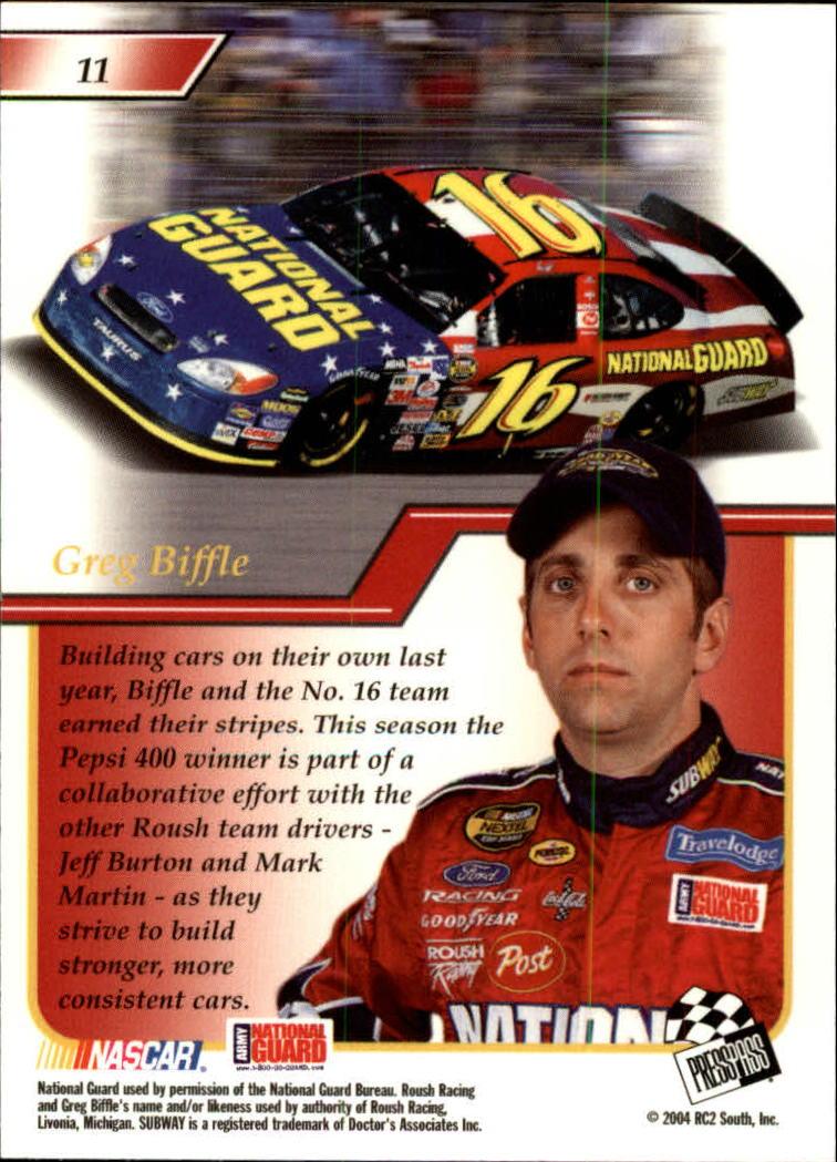 2004-Press-Pass-Premium-Racing-Card-Pick thumbnail 23