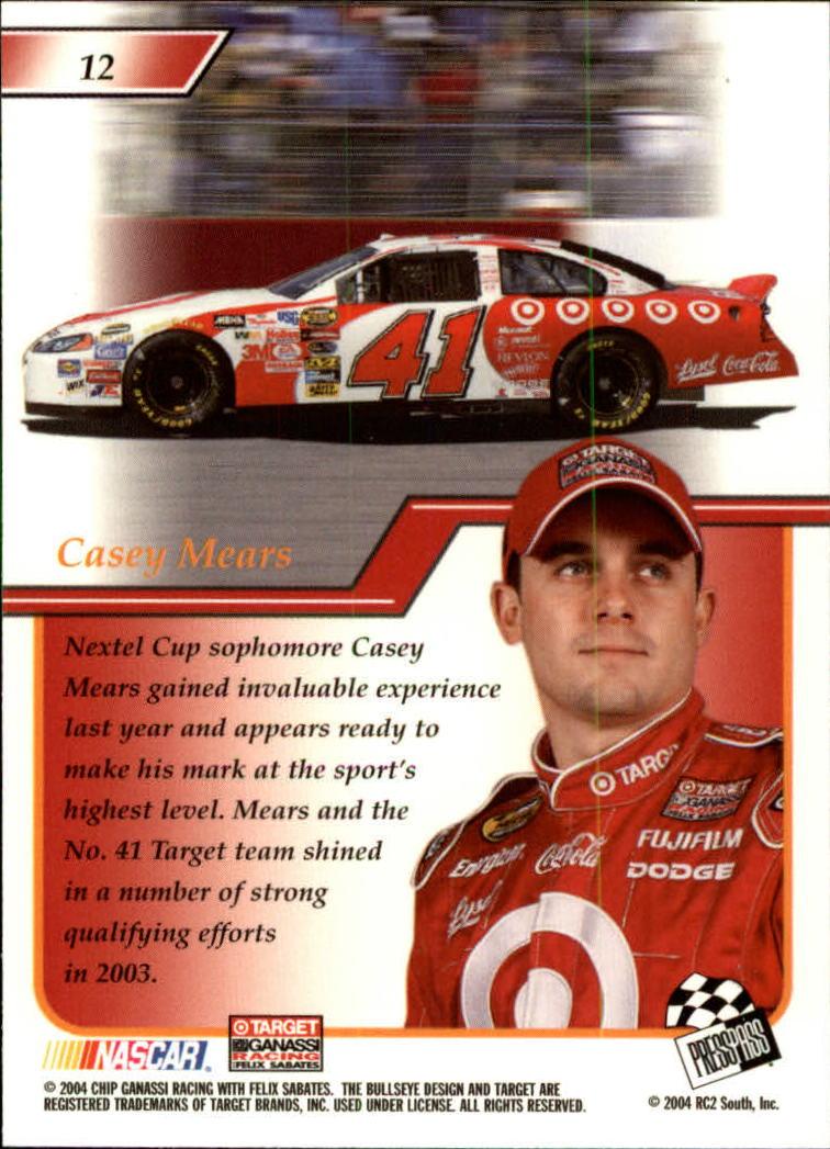 2004-Press-Pass-Premium-Racing-Card-Pick thumbnail 25