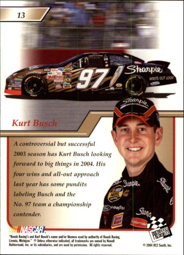 2004-Press-Pass-Premium-Racing-Card-Pick thumbnail 27