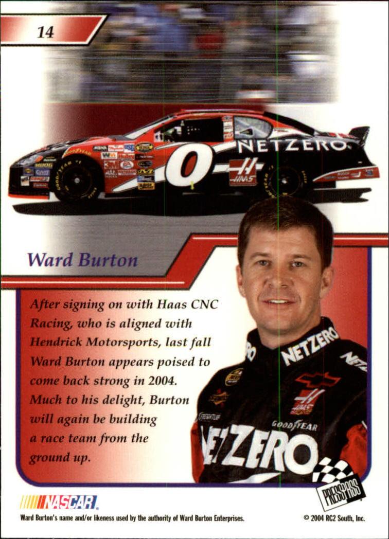 2004-Press-Pass-Premium-Racing-Card-Pick thumbnail 29