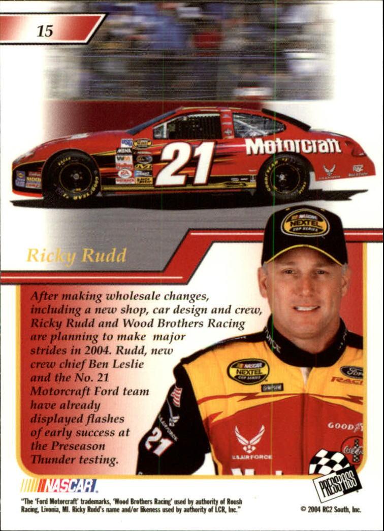 2004-Press-Pass-Premium-Racing-Card-Pick thumbnail 31