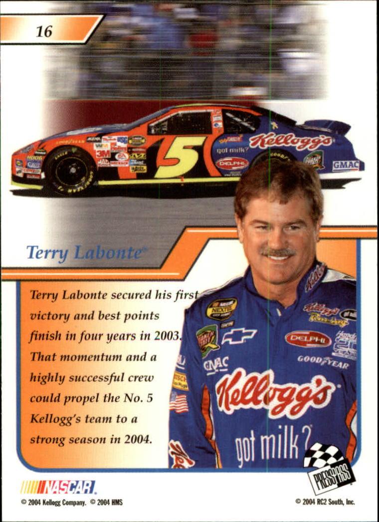 2004-Press-Pass-Premium-Racing-Card-Pick thumbnail 33