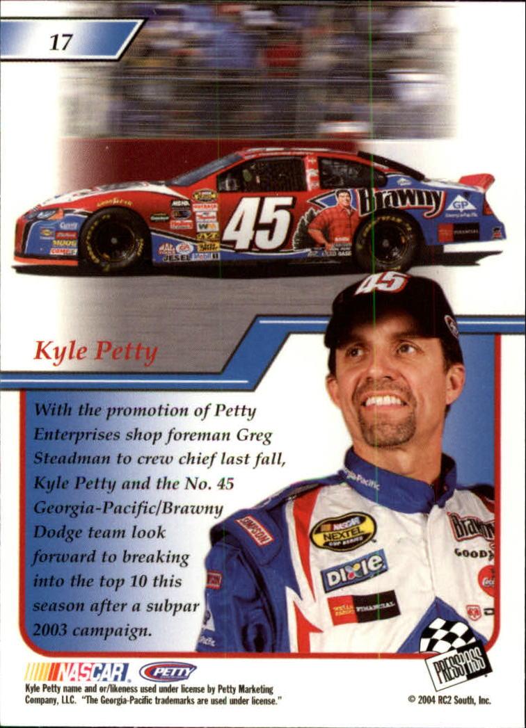 2004-Press-Pass-Premium-Racing-Card-Pick thumbnail 35