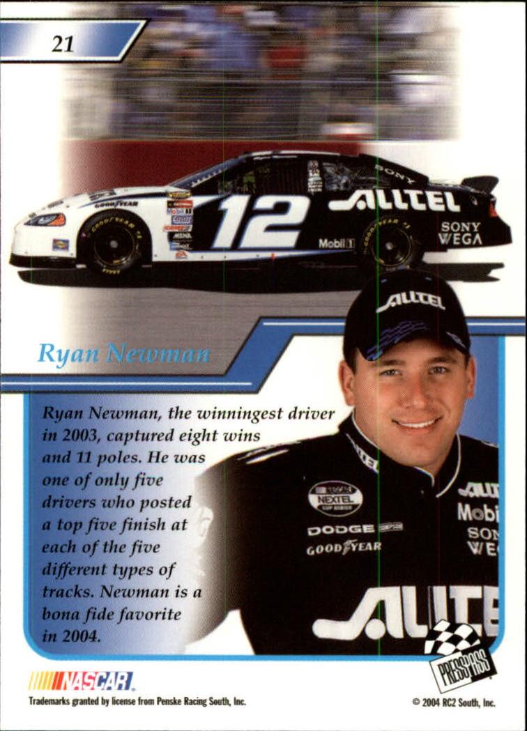 2004-Press-Pass-Premium-Racing-Card-Pick thumbnail 43