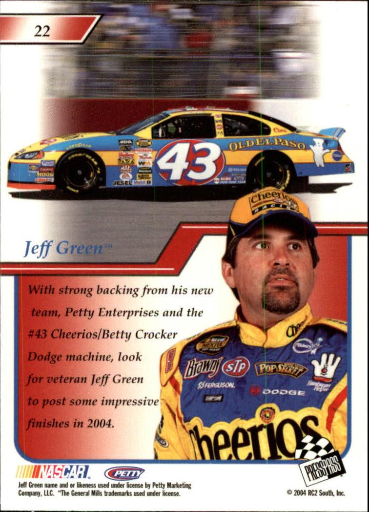 2004-Press-Pass-Premium-Racing-Card-Pick thumbnail 45