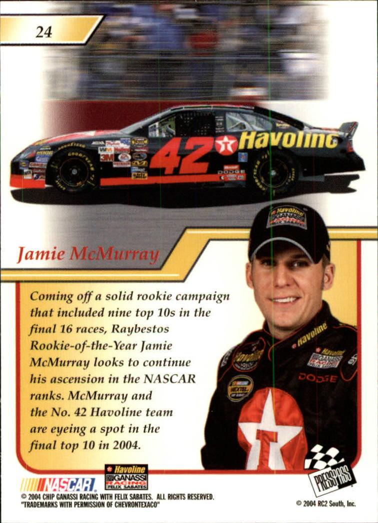 2004-Press-Pass-Premium-Racing-Card-Pick thumbnail 49