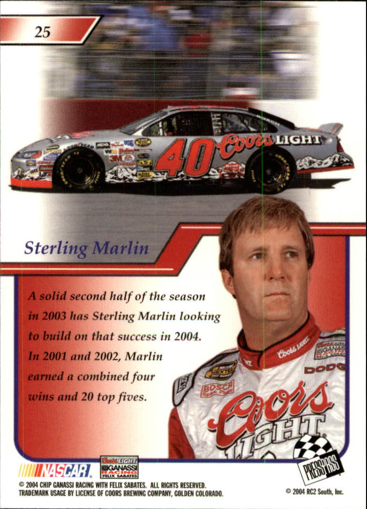 2004-Press-Pass-Premium-Racing-Card-Pick thumbnail 51