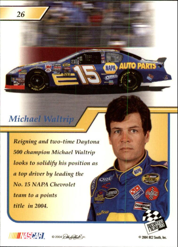 2004-Press-Pass-Premium-Racing-Card-Pick thumbnail 53
