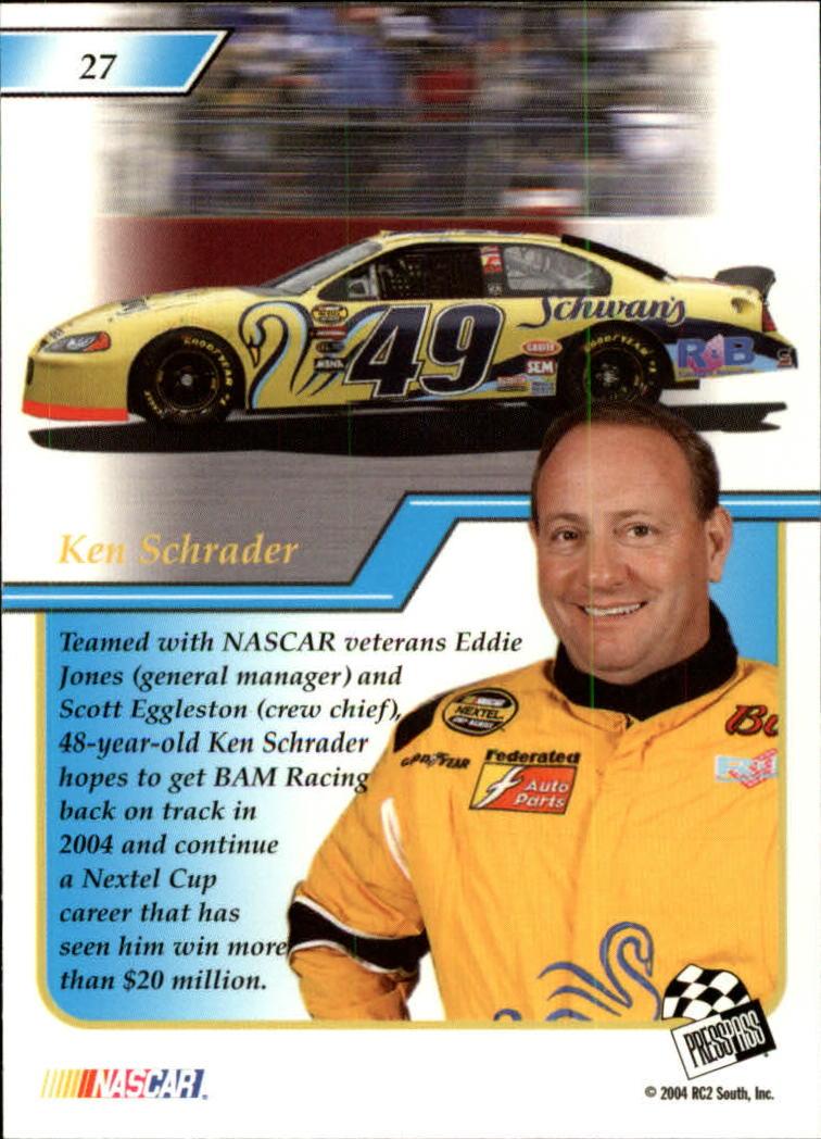 2004-Press-Pass-Premium-Racing-Card-Pick thumbnail 55