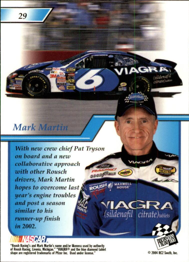 2004-Press-Pass-Premium-Racing-Card-Pick thumbnail 59