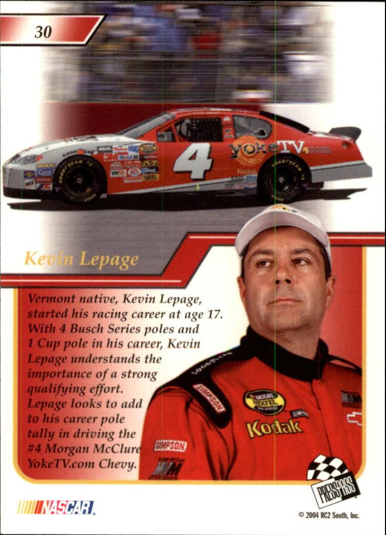 2004-Press-Pass-Premium-Racing-Card-Pick thumbnail 61
