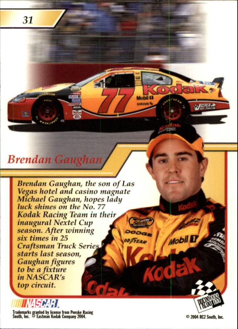 2004-Press-Pass-Premium-Racing-Card-Pick thumbnail 63