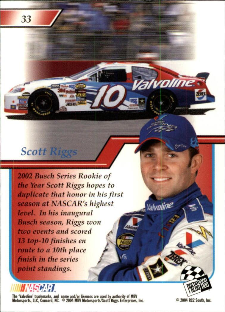 2004-Press-Pass-Premium-Racing-Card-Pick thumbnail 65