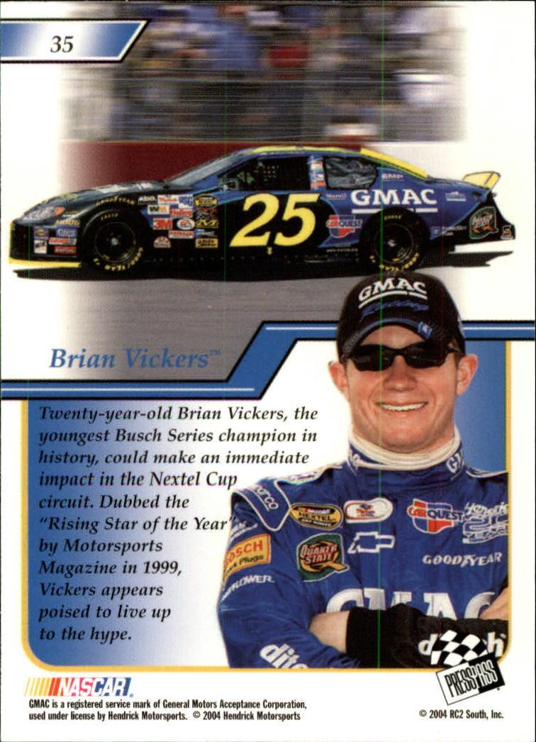 2004-Press-Pass-Premium-Racing-Card-Pick thumbnail 69
