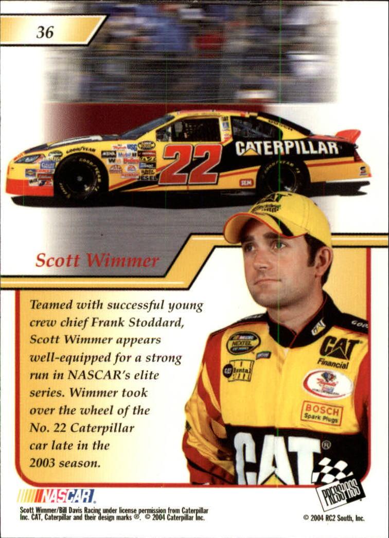 2004-Press-Pass-Premium-Racing-Card-Pick thumbnail 71