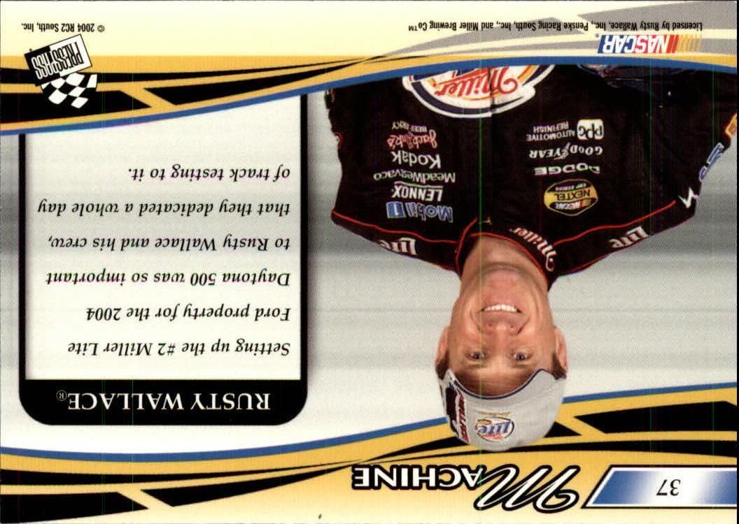 2004-Press-Pass-Premium-Racing-Card-Pick thumbnail 73