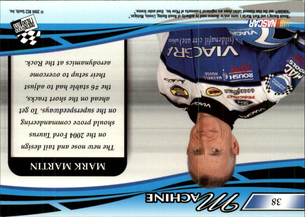 2004-Press-Pass-Premium-Racing-Card-Pick thumbnail 75