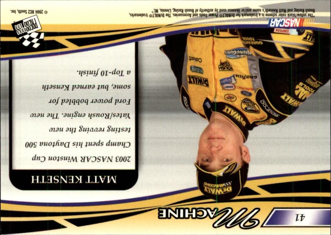 2004-Press-Pass-Premium-Racing-Card-Pick thumbnail 81
