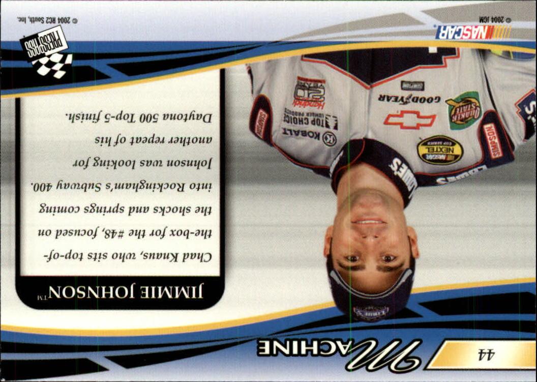 2004-Press-Pass-Premium-Racing-Card-Pick thumbnail 85