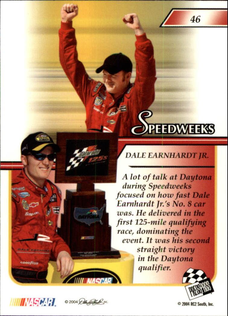 2004-Press-Pass-Premium-Racing-Card-Pick thumbnail 89