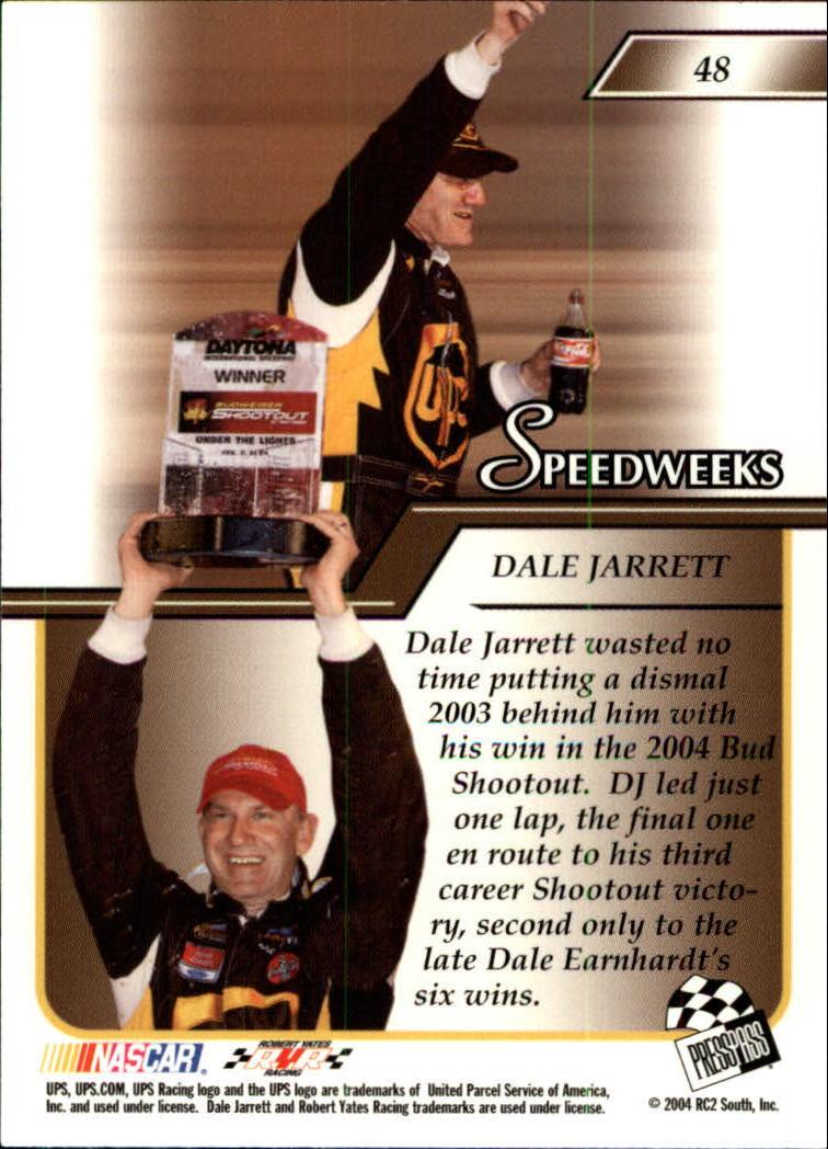2004-Press-Pass-Premium-Racing-Card-Pick thumbnail 91