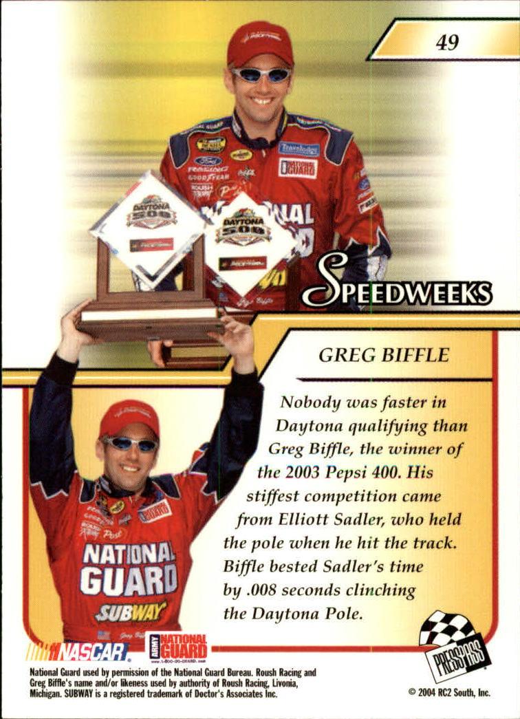2004-Press-Pass-Premium-Racing-Card-Pick thumbnail 93