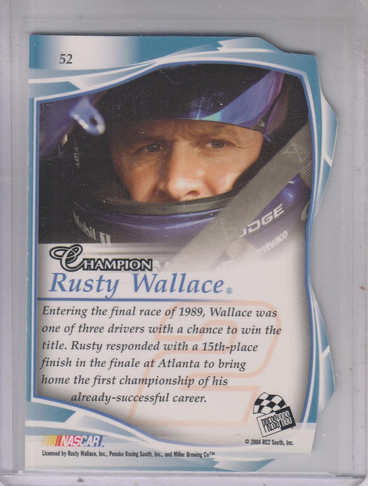 2004-Press-Pass-Premium-Racing-Card-Pick thumbnail 96