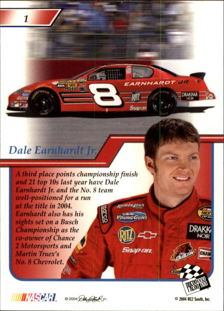 2004-Press-Pass-Premium-Racing-Card-Pick thumbnail 125