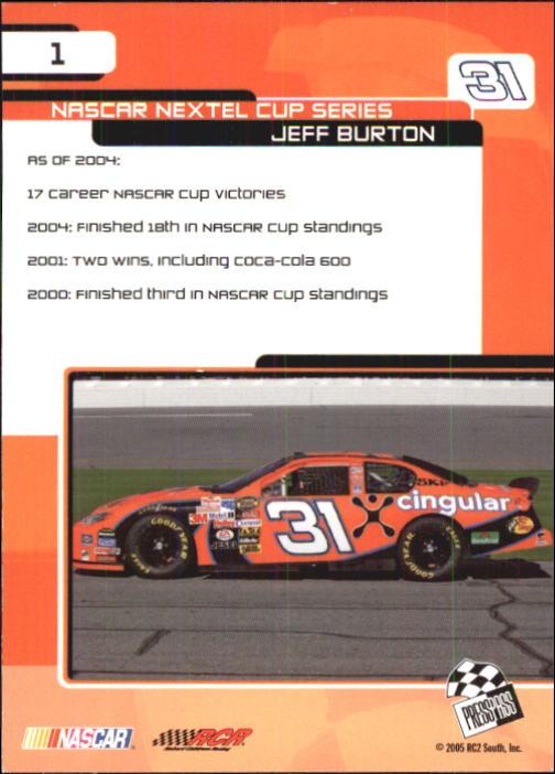 2005-Press-Pass-Trackside-Racing-Card-Pick thumbnail 3
