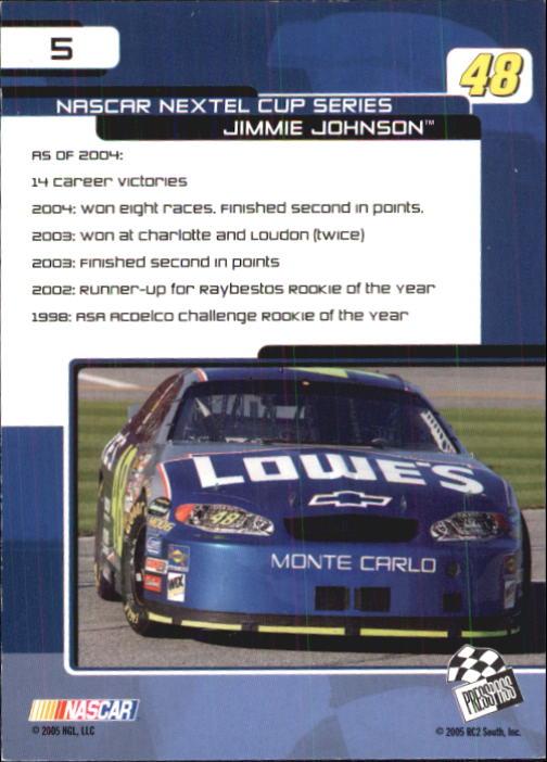 2005-Press-Pass-Trackside-Racing-Card-Pick thumbnail 5