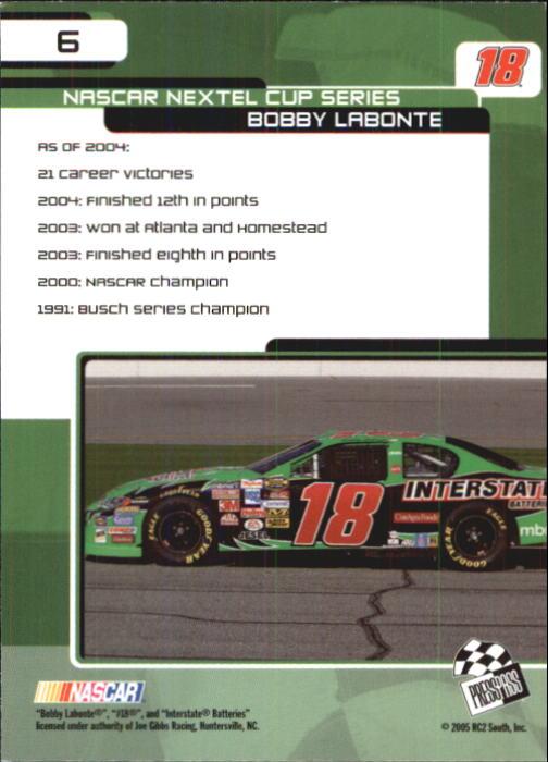 2005-Press-Pass-Trackside-Racing-Card-Pick thumbnail 7