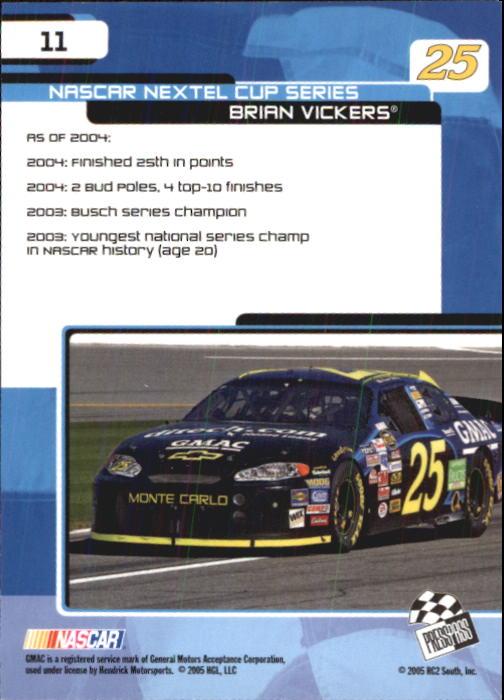2005-Press-Pass-Trackside-Racing-Card-Pick thumbnail 11